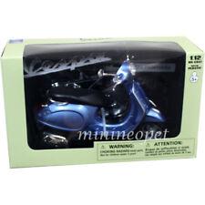 NEW RAY 57553 VESPA PRIMAVERA VINTAGE SCOOTER MOTORCYCLE 1/12 BLUE