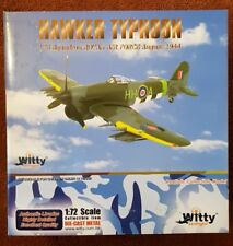 Witty Wings Hawker Typhoon 175 Sqn Royal Air Force Aug 1944 WTW-72-028-001 1:72