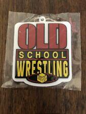 Old School Wrestling Wrestle Crate Exclusive Keyring Key Chain WWE NWA