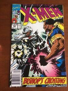 UNCANNY X-MEN # 283 VF+ NEWSSTAND COPY MARVEL COMICS 1991 1ST FULL BISHOP
