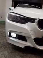 BMW 3 Series E90 E92 F30 Xenon White LED Foglights Kit - H8/H11 6000K Fog Lights