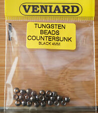 Fulling Mill Painted Tungsten Beads FL ORANGE New 2019 Stocks ** 25 Packet