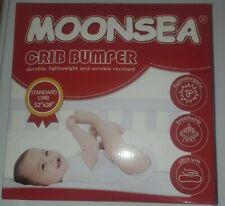 Moonsea Printed Stars Grey Crib Bumpers New Damaged box S1Rct-No