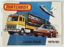 Vintage 1979/80 Matchbox Lesney Collector's Toy Dealer Catalog Booklet