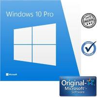 Microsoft Windows 10 Pro 32/64 Bits ESD Multilenguaje Clave de Licencia Original