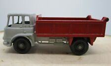 Vintage Matchbox Lesney Bedford 7 1/2 Ton Tipper Dump Truck No. 3 Gray Red