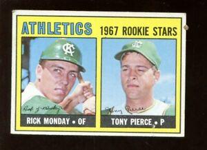1967 Topps Baseball Card HIGH #542 Rick Monday Rookie