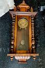 Antique Junghans German Vienna Regulator Wall Clock - Ornate Case