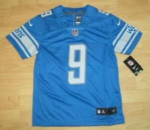 Nike Detroit Lions Matthew Stafford #9 Vapor Limited Home Jersey Youth Medium