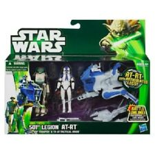 Star Wars Clone 501st Legion AT-RT with ARF Trooper Tactical Droid Exclusives