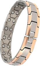Double Magnet Titanium Magnetic Therapy Bracelet Valentines Day Gifts for Men