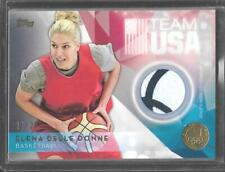 RARE 2016 TOPPS OLYMPIC ELENA DELLE DONNE GOLD RELIC CARD 21/25 ~ USA BASKETBALL