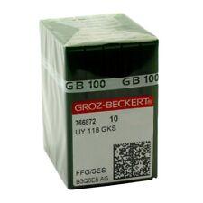 100 Groz-Beckert UY118GKS FFG Point Sewing Machine Needles
