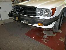 86-89 560 SL mercedes front bumper short shocks nice condition 1078802470,