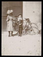 fotografia d'epoca albumina fine '800 BAMBINO-CHILD-KIND-ENFANT 14