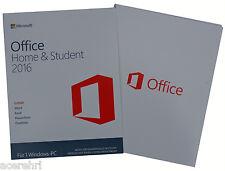 MS Office Home & Student 2016✔Vollversion✔BOX✔ML✔Dauerhafte Lizenz✔MUI/DEUTSCH