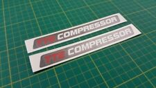 Toyota Yaris Corolla TTE Compressor decals stickers graphics  restoration
