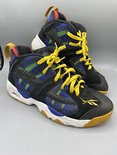 "Reebok The Rail ""Hip Hop Appreciation"" Basketball Shoes - Mens Sz 10 Navy Green"
