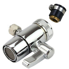 "Counter Top Water Filter Faucet Tap Universal Adapter 1/4"" Outlet Diverter Valve"