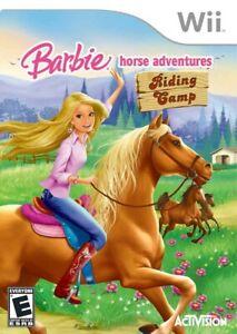 Barbie Horse Adventures: Riding Camp - Nintendo  Wii Game