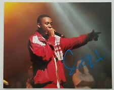 GZA Signed 8x10 Photo The Genius Wu-Tang Rap Rapper Hip Hop LEGEND RAD