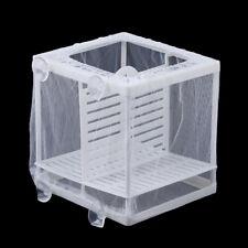 New listing Aquarium Fish Tank Guppy Breeding Breeder Baby/Fry Net Trap Box HatcherOdb9