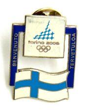 Pin Spilla Olimpiadi Torino 2006 Bandiere - Flag Finland