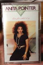 Anita Pointer-  Love for What It Is Cassette Pointer Sisters Donna Summer
