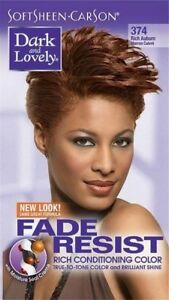 DARK&LOVELY Fade Resist Rich Conditioning Hair Color #374 Rich Auburn