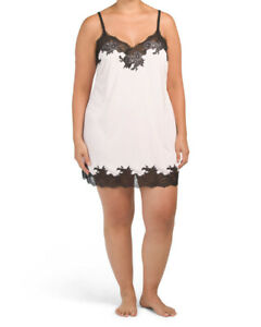 Natori Enchant Lace Trim Chemise  PLUS ( size 1X)