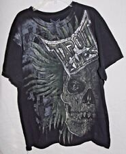 Tap Out Tapout MPS Mask Punkass Skyskrape MMA t-shirt black medium WWE Fighter