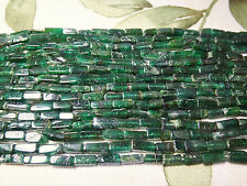 """5x8mm Rectangle Shape Russian Chrome Diopside 13""""-14"""" Inches Stones Beads !$"""