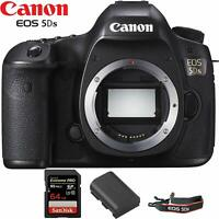 Canon EOS 5DS DSLR Camera Deluxe Bundle 01