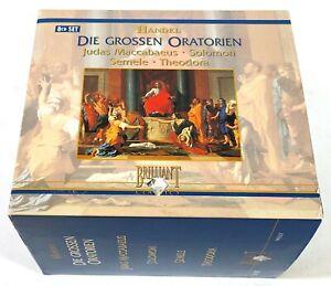 Johannes Somary Handel Die Grossen Oratorien 8CD Brilliant Classics 99267 E330