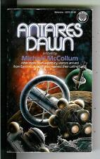 ANTARES DAWN by McCollum, rare Del Rey pbo sci-fi pulp vintage pb