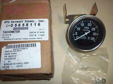 5658116, MTU Detroit Diesel Tachometer, NEW nsn 6680001680574
