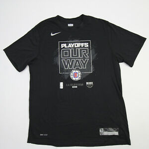 Los Angeles Clippers Nike Dri-Fit Short Sleeve Shirt Men's New with Defect