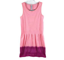 Ivivva Girls Size 10 Ombre Compression Tank Top Tunic Neon Light Pink