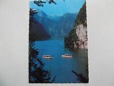 888-Postkarte – AK – Königssee – Falkensteiner Wand mit Schönefeldspitze