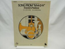 Suicide is Painless, Song from M*A*S*H Sheet Music, Piano, Vocal, Guitar