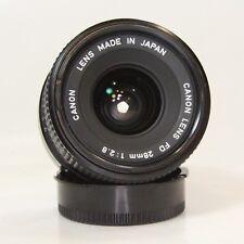 Canon FD 28mm f/2.8 Wide Angle Prime Lens Canon FD 28mm f/2.8 (CNFD28MMF2P8)