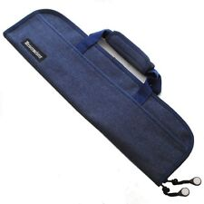 Messermeister 5 Pocket Denim Knife Storage Roll / Bag / Luggage - Blue