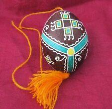Decorative Hand painted Easter blown Real Egg Pysanka Pisanka Pisanki