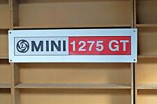 Mini 1275 GT  - workshop or garage pvc banner.