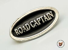 ROAD CAPTAIN VEST PIN  * MADE IN THE USA * MOTORCYCLE BIKER JACKET PIN