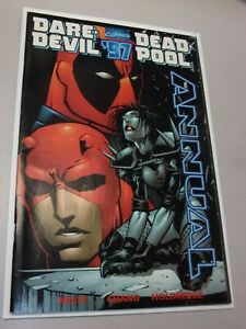 Daredevil / Deadpool Annual '97 #1 Key Typhoid Mary X-men DD Marvel
