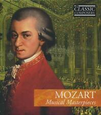 Mozart: Musical Masterpieces (CD, Classic Composers) FREE SHIP IN USA!