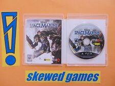 Warhammer 40000 Space Marine - cib - PS3 PlayStation 3 Sony