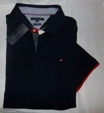 NWT MENS Tommy Hilfiger S/S Polo Shirt~SLIM FIT~Navy~SZ XXL