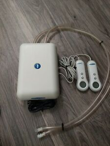 Sleep Number Bed Dual Hose Air Pump PFCS03-DT & 2 Remotes - No Display